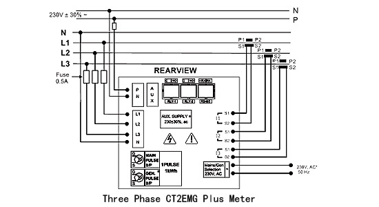 Luxury Energy Meter Wiring Diagram Elaboration - Schematic Diagram ...