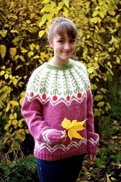 Free-knitting-pattern-icelandic-wool-fern-flower