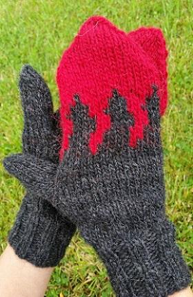 Free-knitting-pattern-icelandic-wool-mittens-holuhraun