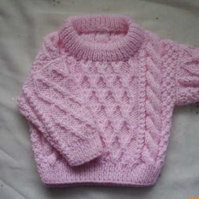 Treabhair-Baby-Sweater-Knitting-Pattern