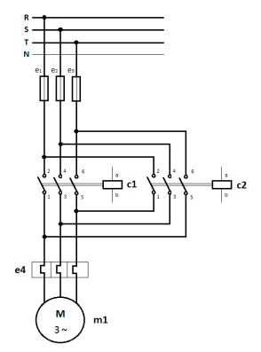 wiring diagram 3 phase motor forward reverse wiring electrical principles mohammad zahirul islam on wiring diagram 3 phase motor forward reverse