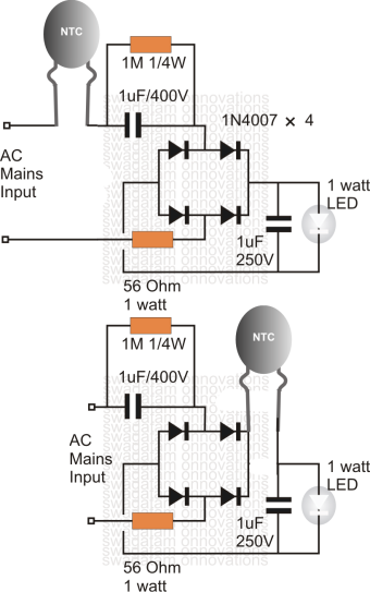 surge protected led driver circuit