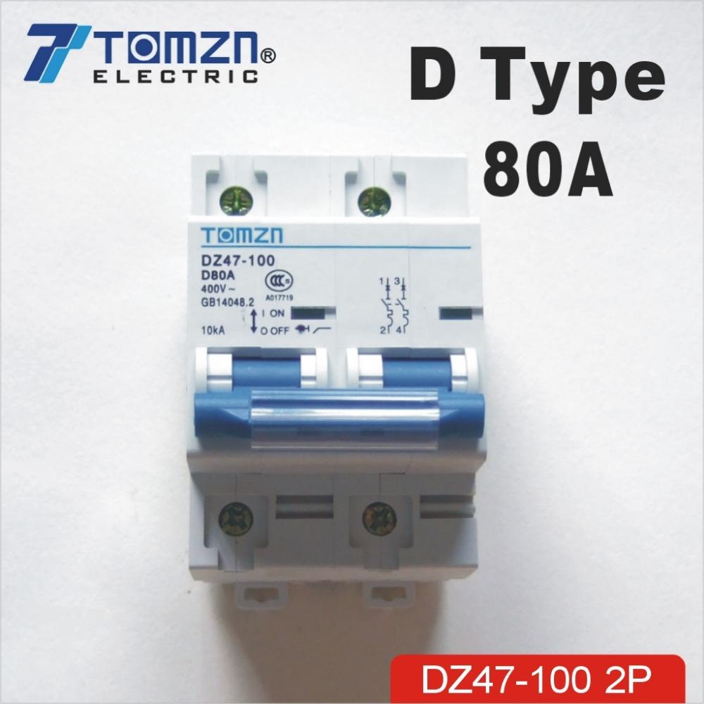 2P-font-b-80A-b-font-400V-50HZ-60HZ-font-b-Circuit-b-font-font-b