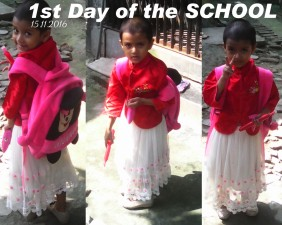 nora 1st day of the school