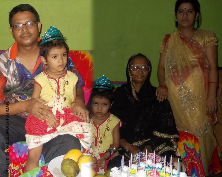 nora 4th birth day